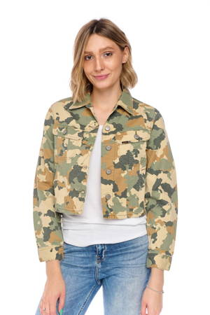 LEE CROPPED RIDER JACKET CAMOUFLAGE L54CCW03