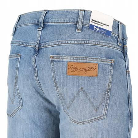 WRANGLER GREENSBORO REGULAR STR. UTOPIA BLUE W15QP1139