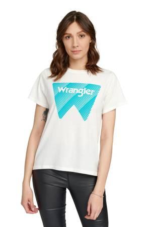 WRANGLER SS GRAPHIC TEE OFF WHITE W7Z4EV737