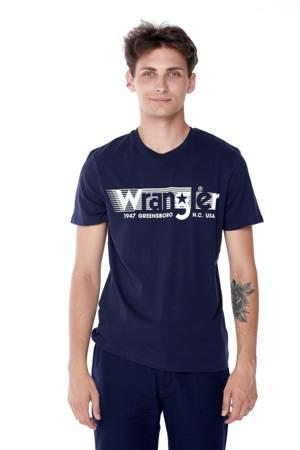 WRANGLER SS TEE NAVY W7D2FQ114