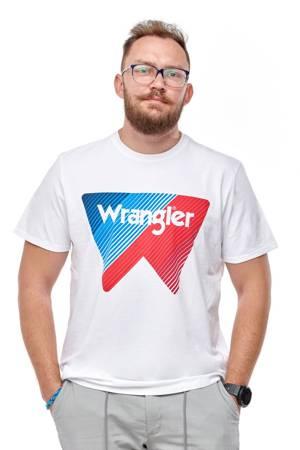 WRANGLER SS W TEE WHITE W7MAD3989